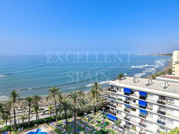 Skol, Marbella center, frontline beach apartment with panoramic sea views