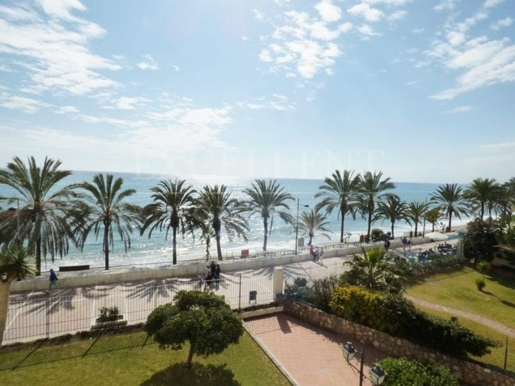 Neptuno, Marbella centre, first line beach apartment for sale
