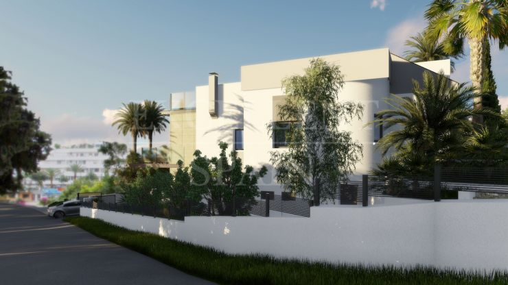 Guadalmina Alta, Marbella, villa for sale in contemporary style