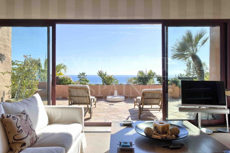Kempinski, Estepona, luxurious frontline beach penthouse with panoramic sea views for sale