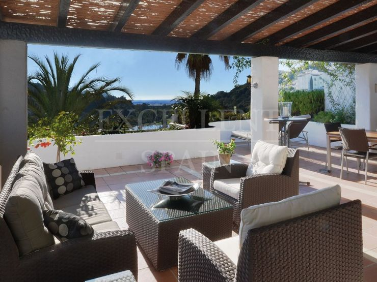 Lomas de la Quinta, Benahavis, bright penthouse with beautiful sea views