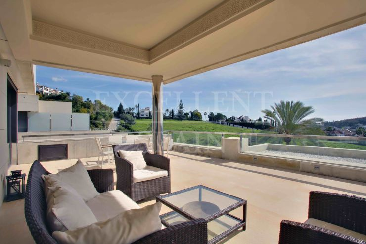Los Arrayanes, Nueva Andalucia, apartment with panoramic views