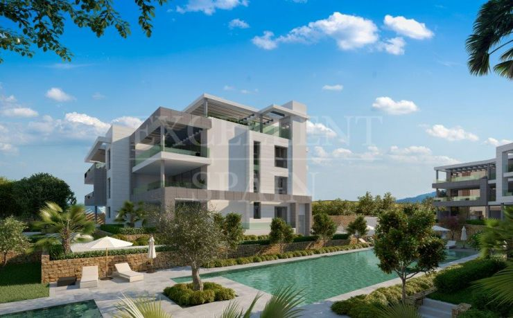 The Residences, Cancelada, Estepona, nieuw contemporary appartement te koop