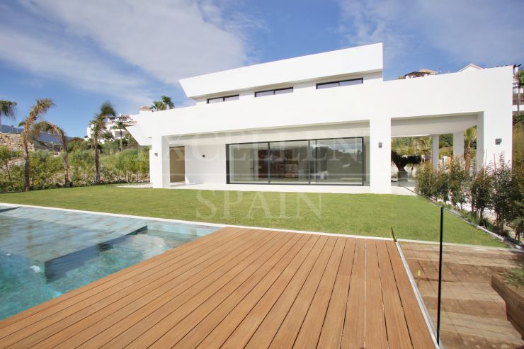 La Alquería, Benahavis, new contemporary villa for sale