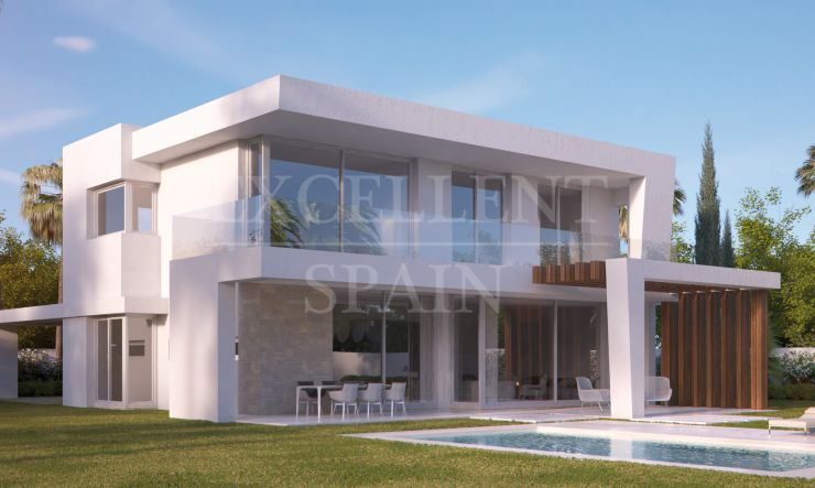 Marbella East, contemporary new villa for sale with panoramic views