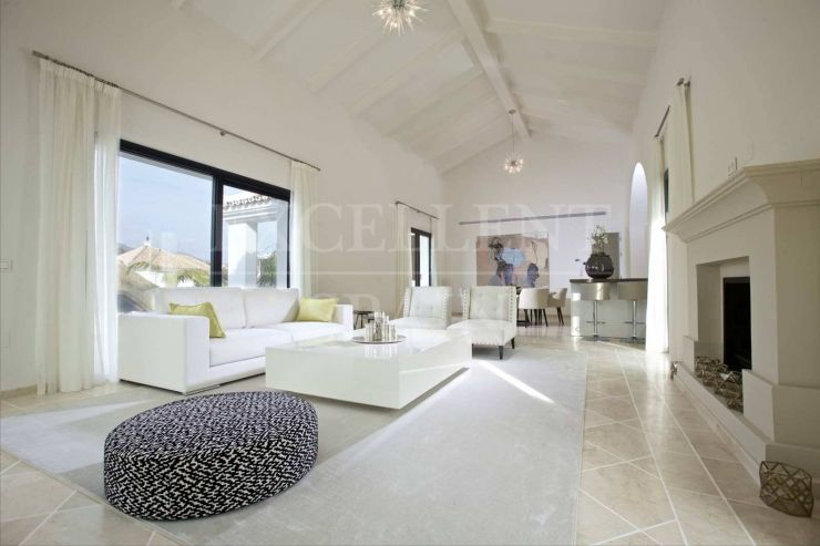 Los Naranjos Golf, Nueva Andalucia, Marbella in contemporary style renovated villa for sale