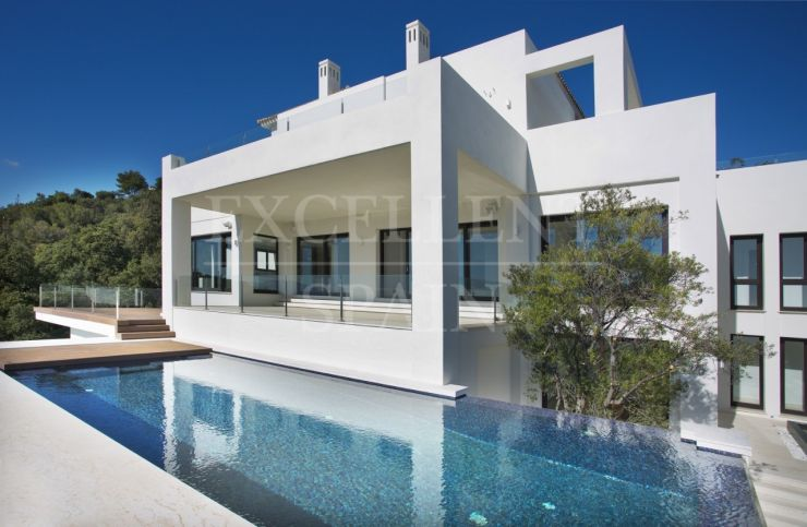 Los Altos de los Monteros, Marbella, very modern, contemporary villa for sale