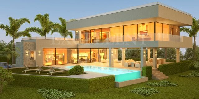 La Alqueria, Benahavis new modern, contemporary villas for sale