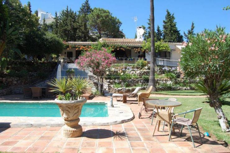 Benahavis, Costa del Sol, Andalucian country style villa for sale