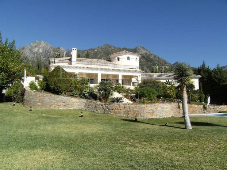 Sierra Blanca, Marbella, Costa del Sol, stunning villa for sale with sea views