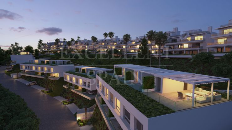 Oceana Collection, stylish town houses with seaviews in the New Golden Mile in Estepona