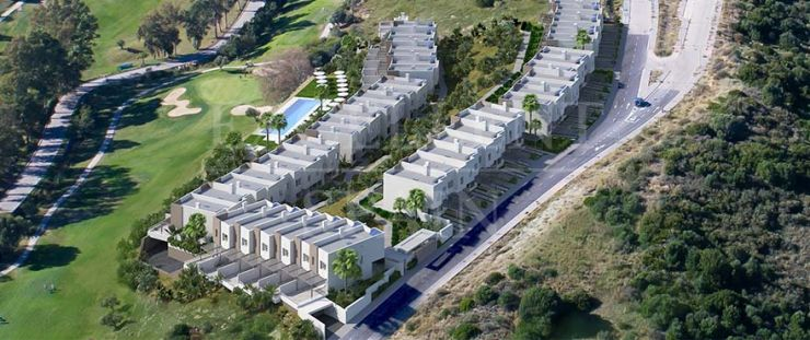 Green Golf, Estepona, front-line golf modern, contemporary townhouses