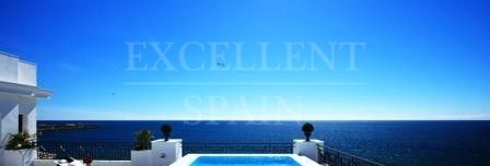Doncella Beach, luxurious, frontline beach new development in Estepona