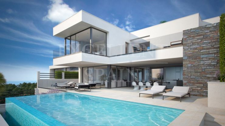 Retamar Santa Matilde, Benalmádena, contemporary, modern villas with stunning sea views