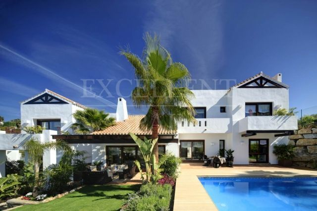 La Alqueria, Benahavis, state-of-the-art contemporary villa for sale