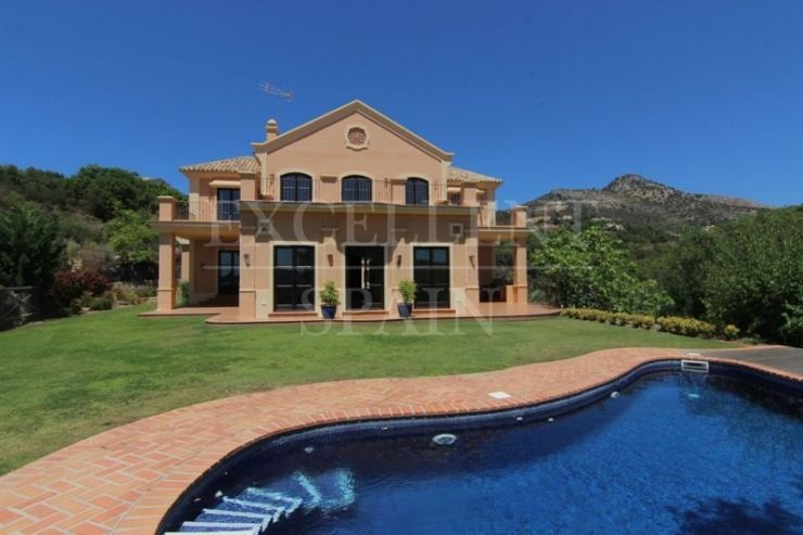 Marbella Club Golf Resort, Benahavis, new built villa with panoramic views