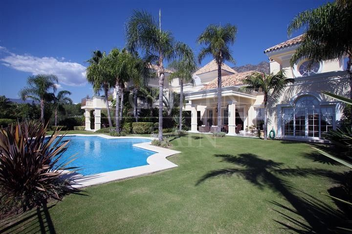 Sierra Blanca, Marbella, luxurious and spacious villa for sale