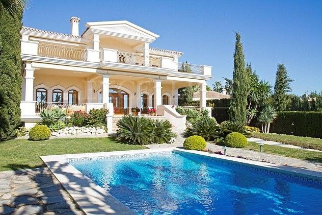 Sierra Blanca, Marbella, immaculate villa with sea views for sale