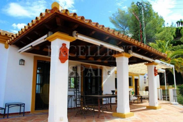 El Madroñal, Benahavis, Costa del Sol, charming villa for sale