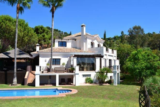 Luxurious villa in La Zagaleta, Benahavis, Costa del Sol for sale