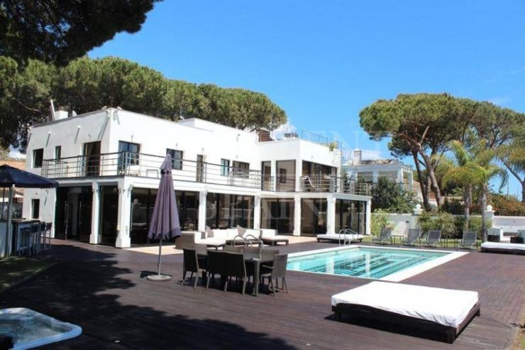 Cabopino, Marbella East, Costa del Sol, contemporary villa for sale