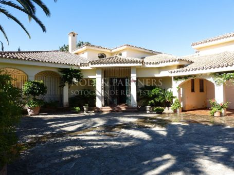 Villa for rent in Reyes y Reinas, Sotogrande