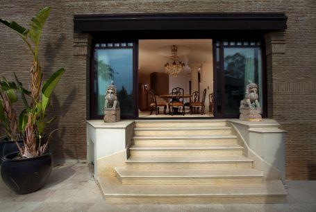A unique frontline beach house for sale in Marbella