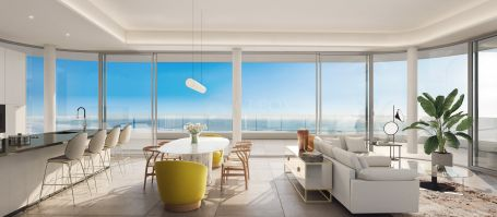 New 1,2,3 and 4 bedrooms apartments, on the beachfront for sale in Torremolinos