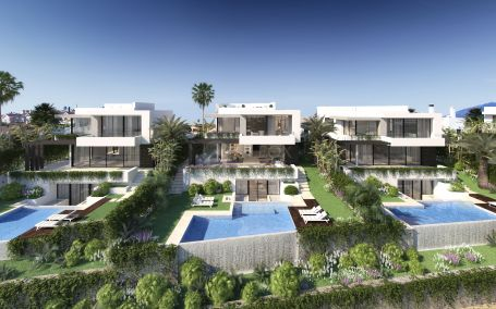 10 New Scandinavian design villas in Estepona, characterized by minimalism and functionality.