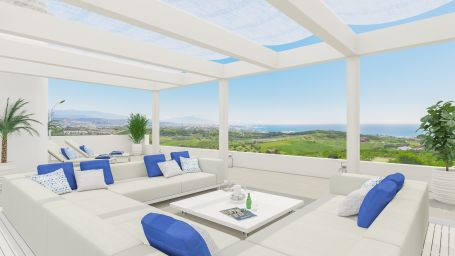 A new development of Apartments and townhouses in Finca Cortesín, a paradise on earth for golf lovers.