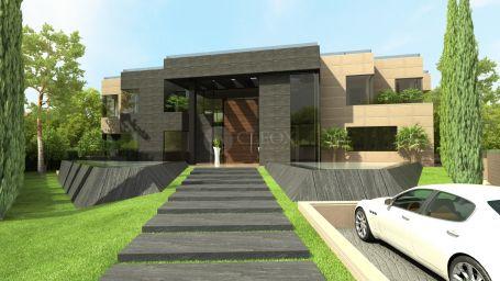 Fantástica villa moderna de lujo, cerca de la playa, junto a Guadalmina Golf