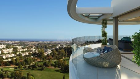 New development of contemporary luxury apartments and penthouses for sale in Benahavis-Marbella