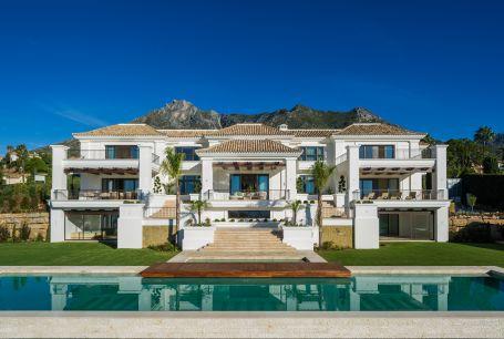 Espectacular villa de lujo a la venta en Sierra Banca, milla de oro de Marbella