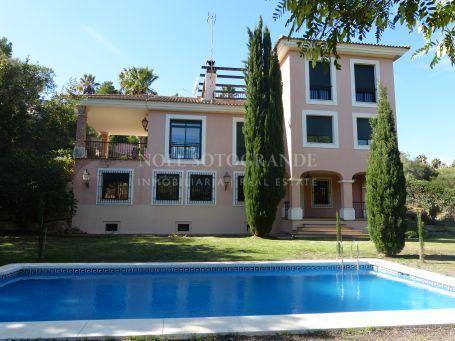 Villa zu Vermieten in Zona F, Sotogrande