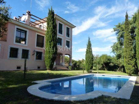 Villa for rent in Zona F, Sotogrande