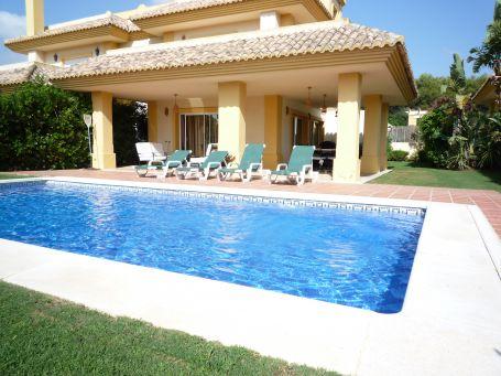 Villa for rent in San Roque Club, San Roque