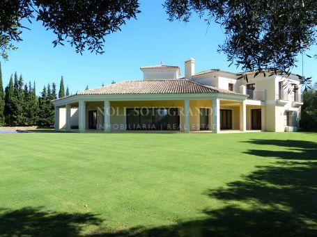 Villa para alquilar en Los Altos de Valderrama, Sotogrande