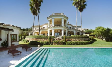 Villa for rent in Sotogrande Alto, Sotogrande