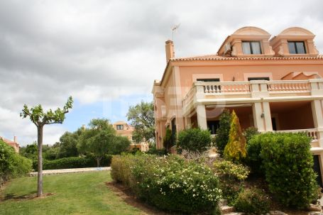 Semi-Detached Villa with a Private Pool in Sotogolf, Sotogrande