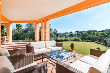 Beautiful villa situated in a quiet part of Sotogrande Alto