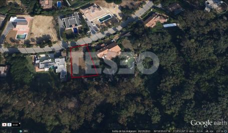 Plot with nice green views and South orientation in the F zone, Alto