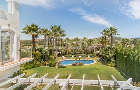 Villa for Sale in the F zone of Sotogrande Costa. With unique green and sea views
