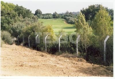 Plot by Valderrama's golf course (2nd and 3rd holes)