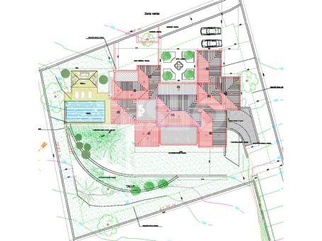 A plot with project for sale in La Reserva de Sotogrande