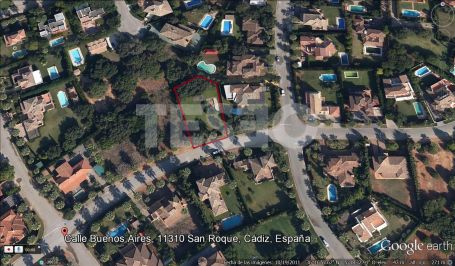 Plot for Sale in Calle BUenos Aires, Sotogrande