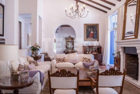 Villa in Sotogrande Costa designed by Rafael Manzano
