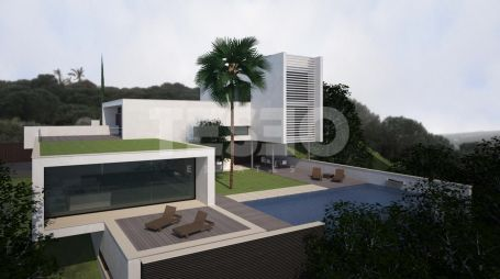 Plot with sea and mountain views