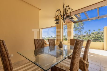 A spacious ground floor apartment in the exclusive development of Valgrande