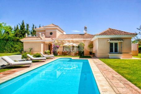 4 bedroom villa in Sotogrande Costa in perfect condition