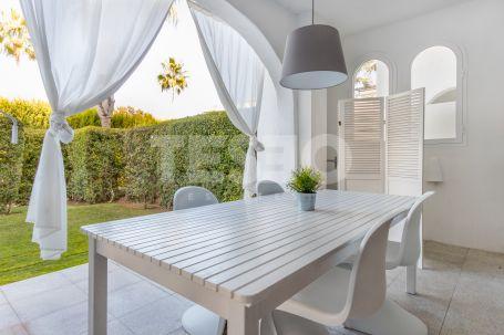 Spacious Groundfloor with a Large Garden in El Polo de Sotogrande